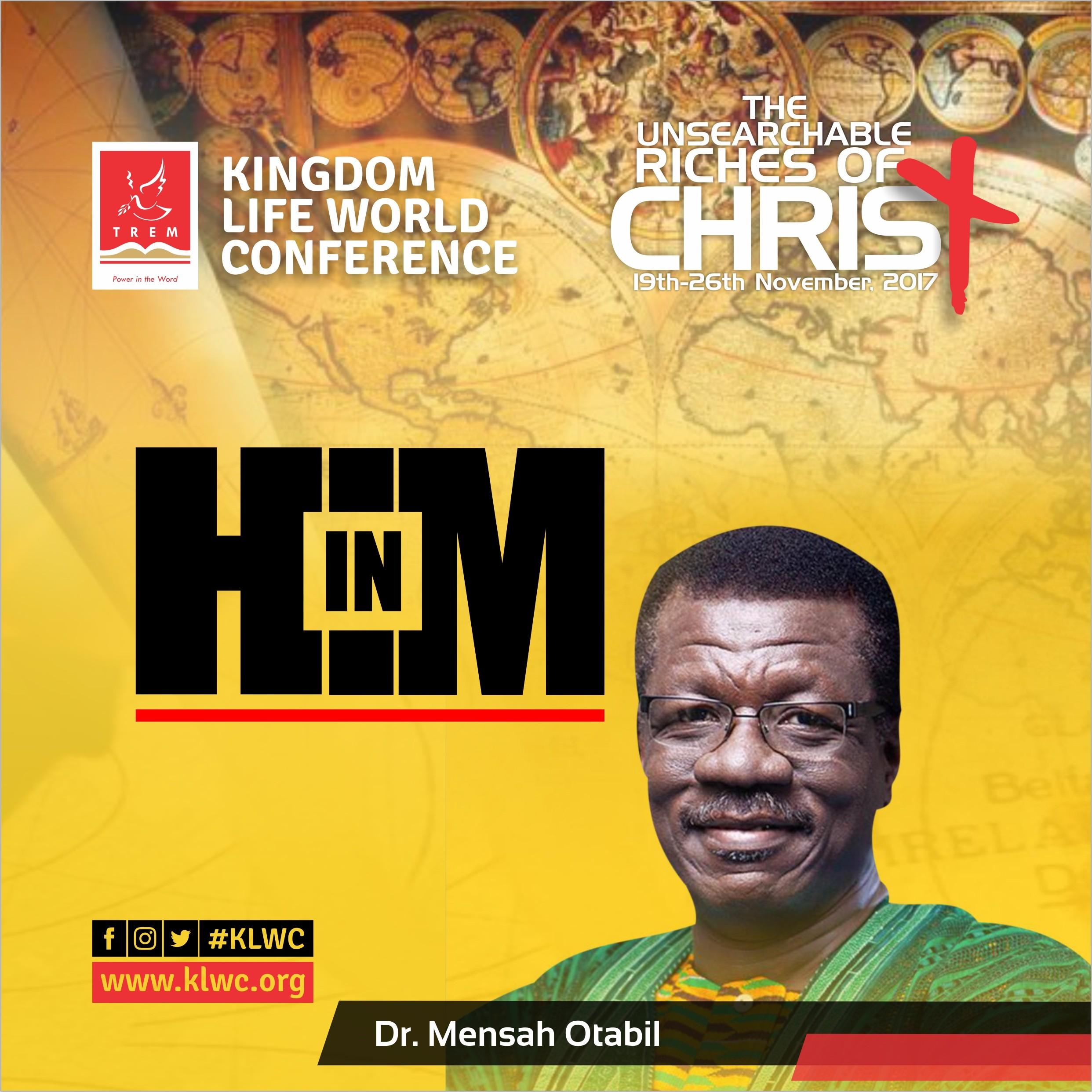 In HIM by Dr. Mensa Otabil