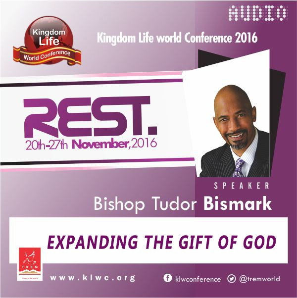 Expanding The Gift Of God by Bishop Tudor Bismark (AUDIO