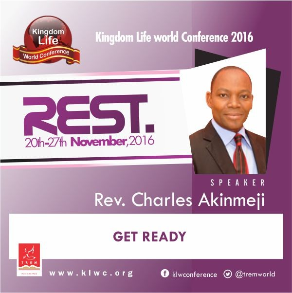Get Ready by Rev. Charles Akinmeji (VIDEO)