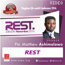 REST By Pastor Matthew Ashimolowo