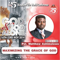 Maximizing The Grace Of God by Pastor Matthew Ashimolowo (Mp3)