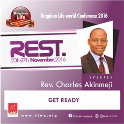 Get Ready by Rev. Charles Akinmeji (VIDEO)