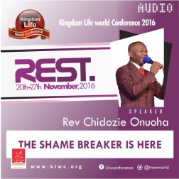 The Shame-Breaker Is Here by Rev.Chidozie Onuoha (AUDIO)